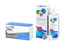 SofLens Toric (3 soczewki) + płyn Gelone 360 ml