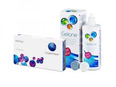 Biofinity (3 soczewki) + płyn Gelone 360 ml