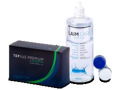 TopVue Premium for Astigmatism (6 soczewek) + płyn Laim-Care 400ml