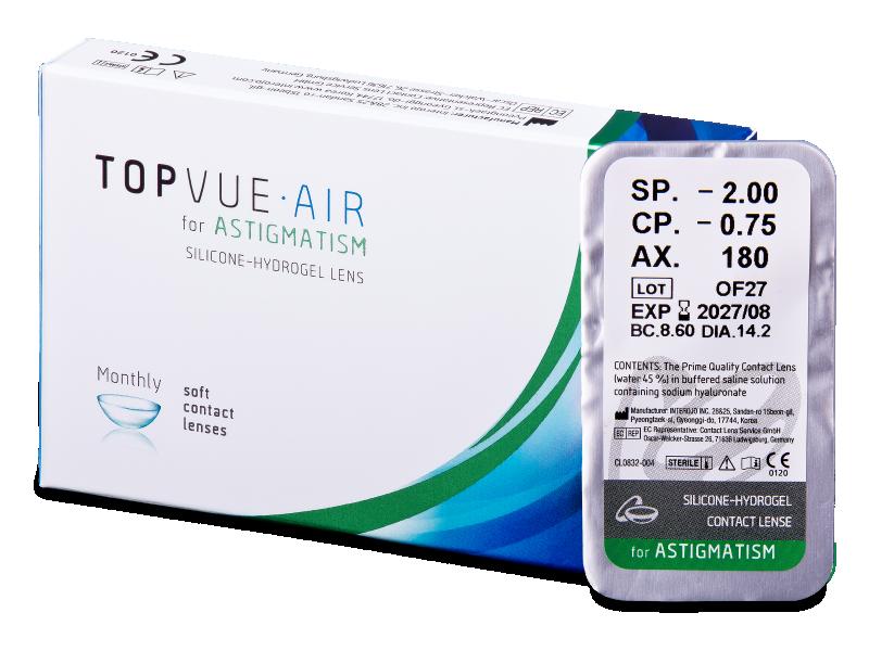TopVue Air for Astigmatism (1 soczewka)