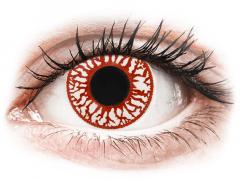 ColourVUE Crazy Lens - Blood Shot - jednodniowe zerówki (2soczewki)