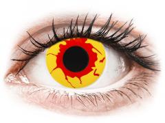 ColourVUE Crazy Lens - Reignfire - jednodniowe zerówki (2soczewki)