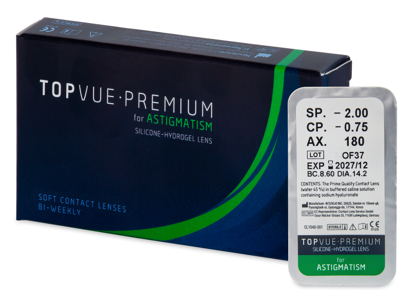 TopVue Premium for Astigmatism (1 soczewka)
