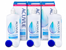 Płyn Acuvue RevitaLens 3x 300 ml