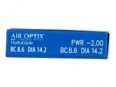 Air Optix plus HydraGlyde (6 soczewek)