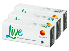 Live Daily Disposable (90 soczewek)