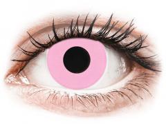 CRAZY LENS - Barbie Pink - jednodniowe korekcyjne (2 soczewki)