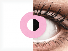 CRAZY LENS - Barbie Pink - jednodniowe zerówki (2 soczewki)