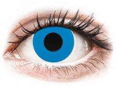 CRAZY LENS - Sky Blue - jednodniowe korekcyjne (2 soczewki)