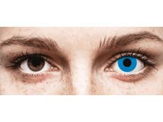 CRAZY LENS - Sky Blue - jednodniowe zerówki (2 soczewki)