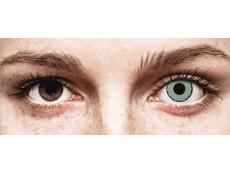 CRAZY LENS - Zombie Virus - jednodniowe zerówki (2 soczewki)
