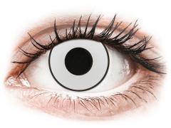 CRAZY LENS - White Black - jednodniowe korekcyjne (2 soczewki)