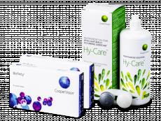 Biofinity (2x 6 soczewek) + Płyn Hy-Care 360 ml GRATIS