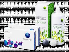 Biofinity (2x 3 soczewki) + Płyn Hy-Care 360 ml GRATIS