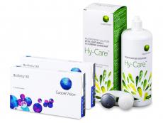 Biofinity XR (2x 3 soczewki) + Płyn Hy-Care 360 ml GRATIS