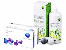 Biofinity XR Toric (2x 3 soczewki) + Płyn Hy-Care 360 ml GRATIS