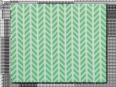 Ściereczka do czyszczenia okularów - zielono-biała
