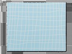 Ściereczka do czyszczenia okularów - niebieska kratka