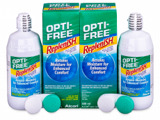 Płyn OPTI-FREE RepleniSH 2 x 300 ml