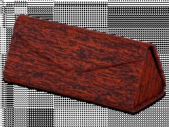 Czerwone etui na okulary - Brindle