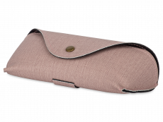 Różowe etui na okulary SH224-1