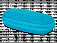 Zapinane etui na okulary dla dzieci - niebieskie
