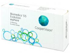Biomedics 55 Evolution (6 soczewek)