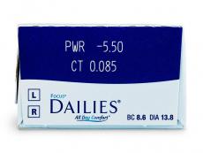 Focus Dailies All Day Comfort (30soczewek)