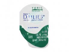 Focus Dailies Toric (30soczewek)