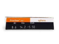 Proclear Sphere (6 soczewek)