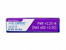 Air Optix Aqua Multifocal (3 soczewki)