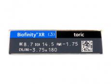 Biofinity XR Toric (3 soczewki)