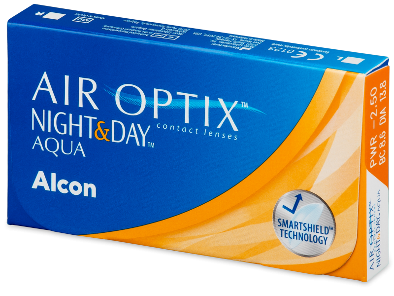 Air Optix Night & Day Aqua (6 soczewek)